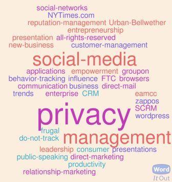 Privacy Tag, Delicious leader, Spring 2011