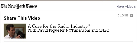 The New York Times video on new Radio technology